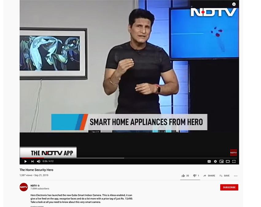 Rajiv Makhni, NDTV