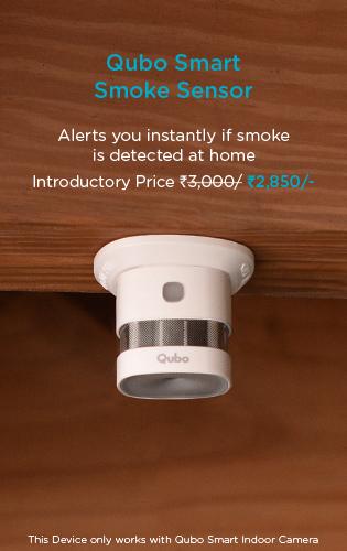 Qubo smart smoke sensor