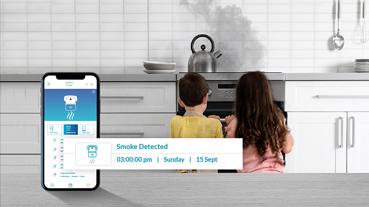 Stay alert with Qubo smart smoke sensor