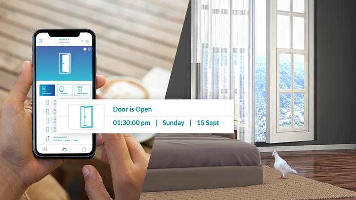 Smart Door Sensor with high security