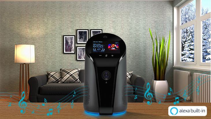 Qubo Smart Indoor Camera comes with Alexa Built-In