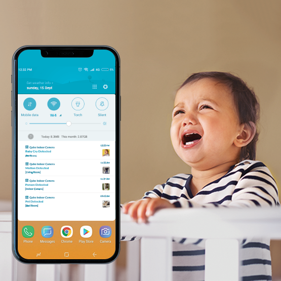 Baby cry alert with advanced detection