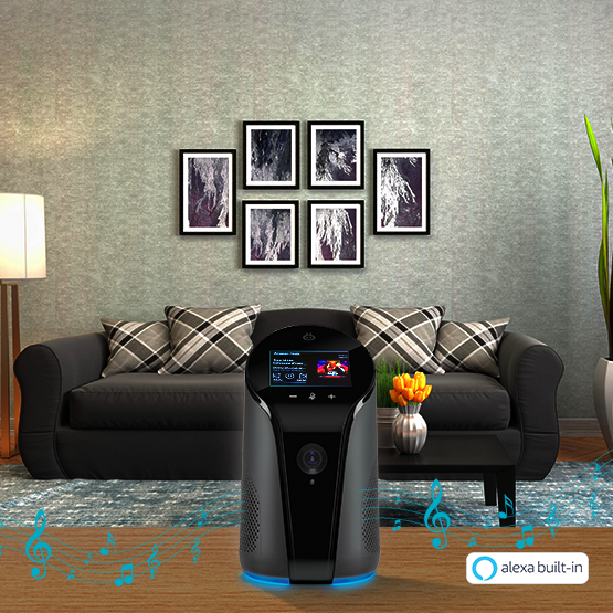 Qubo Smart Indoor Camera comes with Alexa Built-In