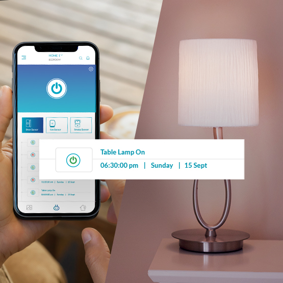Smar hub with  Wi-Fi devices support.